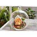 Montagem DIY Kit Modelo de Mini Casa De Bonecas Em Miniatura De Madeira Edifícios Chamada Pandora Magic Garden Presente para a Menina e sua Namorada
