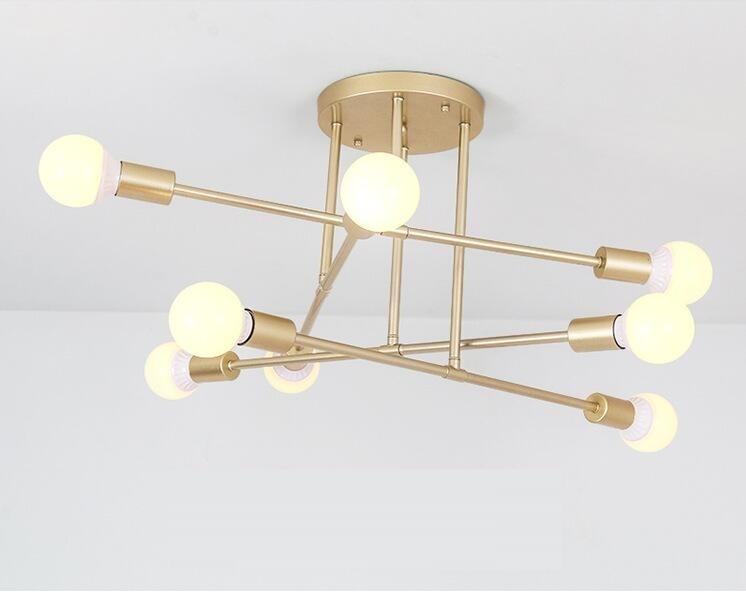 Modern Ceiling Lights LED ceiling lamp lighting room bedroom lamp home minimalist creative living room chandelier in Pendant Lights from Lights Lighting