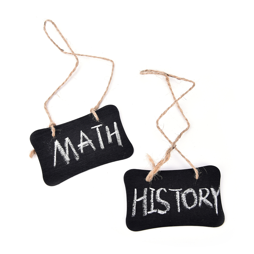 2Pcs Mini Blackboard Chalkboard Pegs Wooden Clips Message Boards Decor Stands Wedding Party Decoration 18.5*8 Cm