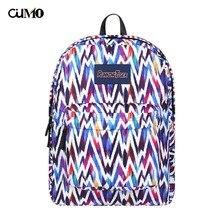 цена на Ou Mo brand Striped Print Mini Bag laptop anti theft backpack feminina backpack Women Bag man teenagers Boys/Girls Schoolbag