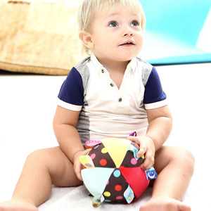 Image 3 - Baby Toys 0 12 Months Childrens Ring Bell Ball Baby Cloth Music Mobile Learning Toy Plush Educational Hand Grasp Rattle Ball
