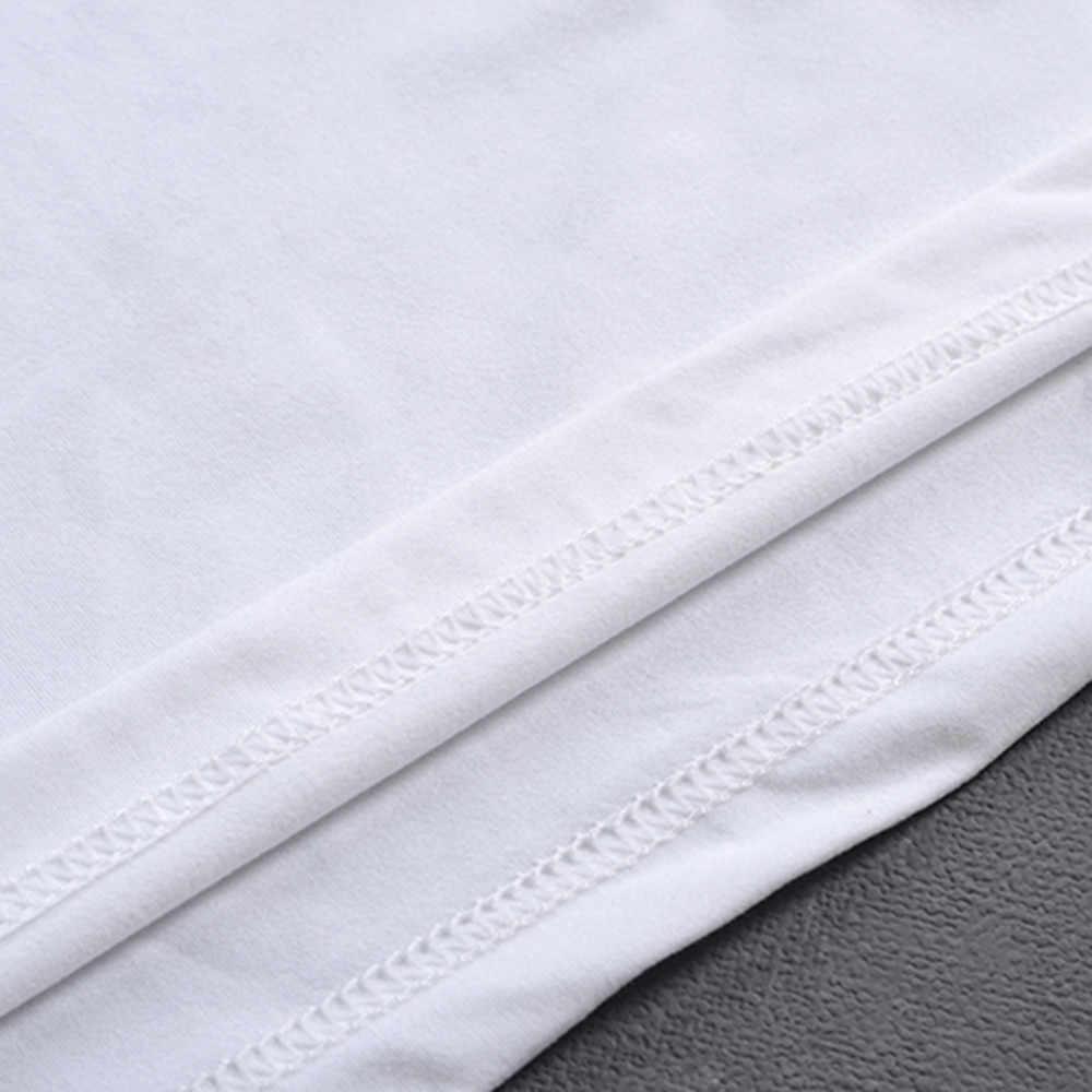 Feitong Degli Uomini di Estate di Stampa Magliette Shirt Manica Corta T Shirt Camicetta Cat Stampato 2018 Più Nuovo O-Collo Hot Spring Uomini Magliette e camicette