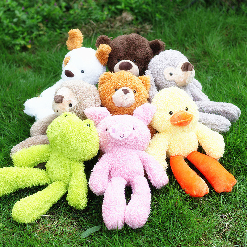 85a108b74 ⑤Free shipping 30cm Kawaii Stuffed Baby Kids Toys for Children ...