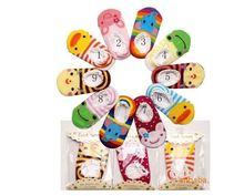 Non-slip Детские Малыш Low cut Носки Обувь Тапочки Мальчики Девочки детские Low Cut Носки пинетки kids Socks бесплатная доставка