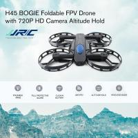 JJR/C H45 BOGIE Wifi FPV Quadcopter RC Drone with 720P Camera Voice Control Altitude Hold Wheel Shaped Foldable Mini Drone