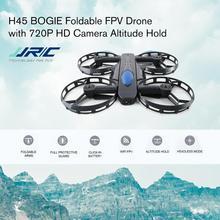 JJR/C H45 BOGIE Wifi FPV quadrirotor RC Drone avec caméra 720P contrôle vocal maintien d'altitude roue en forme de Mini Drone pliable