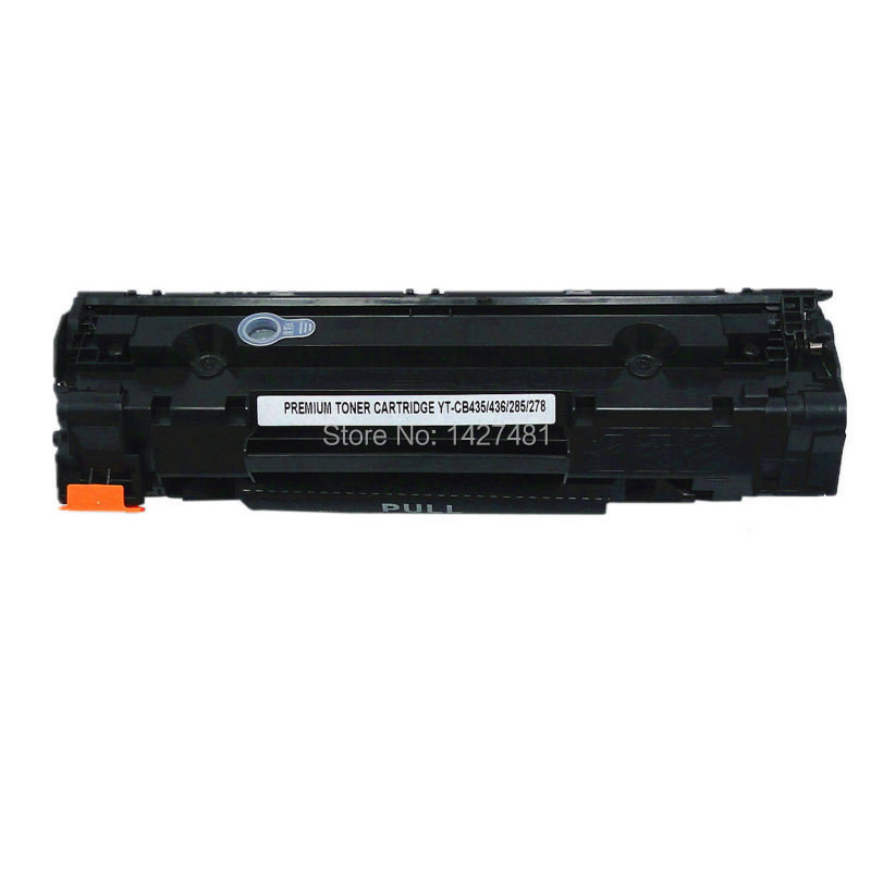 YOTAT Compatible <font><b>Toner</b></font> Cartridge for <font><b>HP</b></font> CB435A CB436A CE285A CE278A for <font><b>HP</b></font> LaserJet P1005 <font><b>P1006</b></font> LaserJet P1505 P1505N image