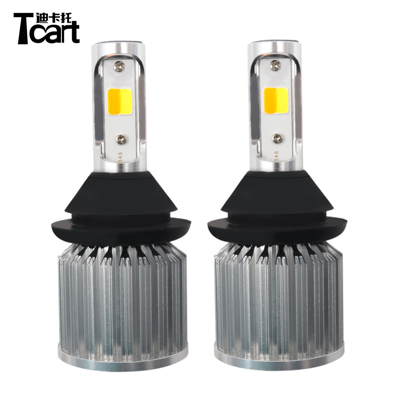 T20 7440 30W led cob daytime running lights car accessories PY21W  turn signal lamps