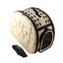 Pet Bag Pet Travel Carrier Shoulder dogs cats Bag Folding Portable Breathable outdoor Pet Carrier Dog Backpack Pet Products PA01