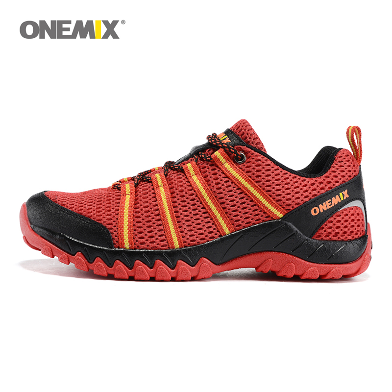 Onemix men's breathable mesh running shoes leisure sport athletic shoes weaving slow sneakers size EU39-45 Free shipping onemix mens running shoes with 4 colors breathable mesh stylish athletic sport shoes for men sneakers eur size 39 45 1118 1