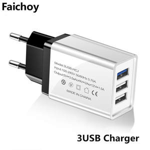 Usb-Phone-Charger Fast-Charging Huawei Micro-Usb-Cable Type-C Eu/Us-Plug Xiaomi Samsung