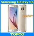 "Samsung Galaxy S6 G920T Оригинальный Разблокирована 4 Г GSM Android Мобильный Телефон Окта Ядро 5.1 ""RAM 3 ГБ ROM 32 ГБ 16MP Dropshipping"
