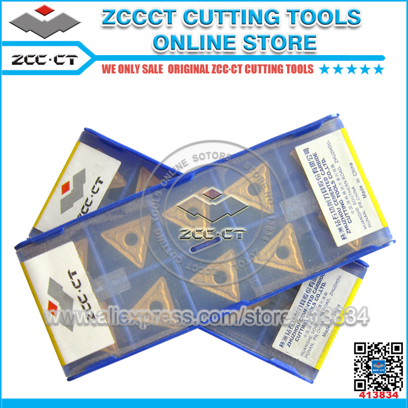 ZCC.CT 10P TNMG160404R-ZC YBC251 CNC Carbide Insert  Turning Insert for Steel