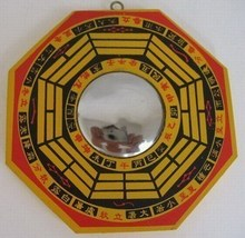 china Folk old,fengshui bronze tai chi gossip mirror Talisman,metal crafts home decoration metal