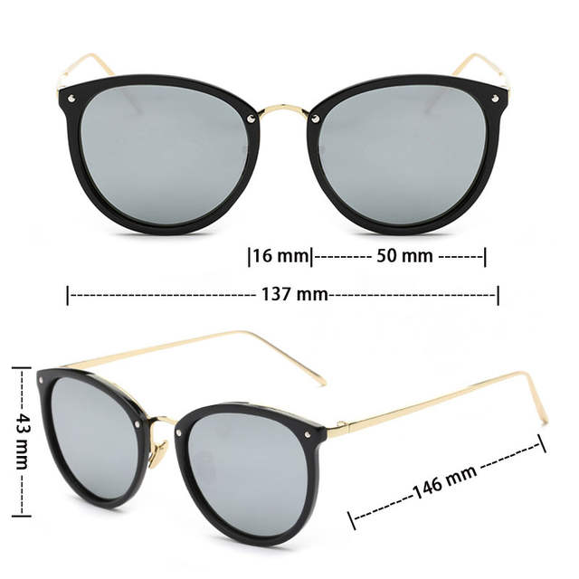 c8b40bd4bb VEGA Oval Vintage Goggles Women Men Fashion Polarized Sunglasses For Ladies  Party Glasses For Small Face