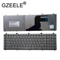 Teclado portátil em prata para asus  layout us para laptop asus série n55 n55s n55sf n75 n75sf n75sf nsl n75s n75y pro