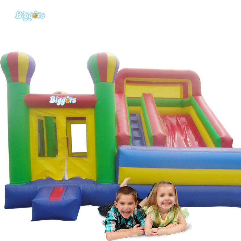 Commercial Grade Inflatable Jumping House With Slide For Kids Rental free shipping by sea 9m 6m 6m commercial inflatable water slide inflatable jumping slide with pool for kids