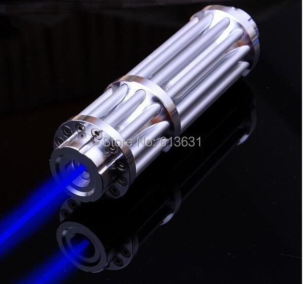 Blue Laser Pointers 500000m 450nm Burning Match/Dry Wood/lit Candle/,Burn Cigarettes SOS ,Camping Signal Lamp Hunting