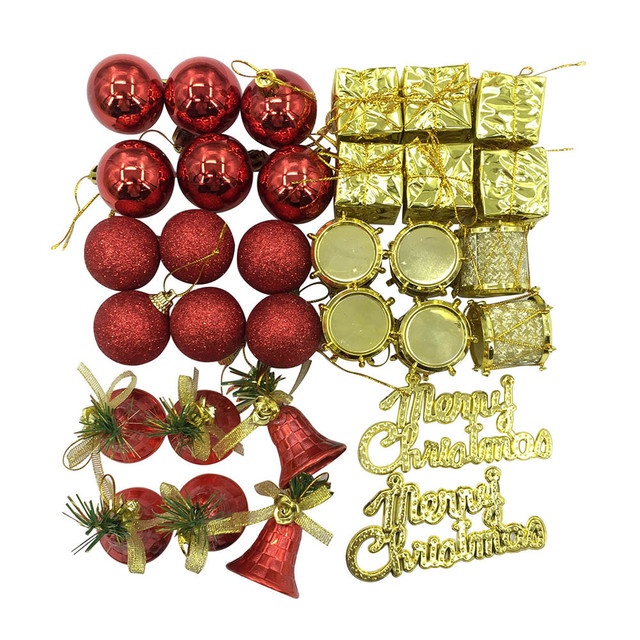 Colorful Christmas Balls.Us 6 98 32pc Colorful Christmas Balls Cloth Pvc Baubles Party Tree Home Patry Christmas Decorations Hanging Ornament Decor Kerst 2018 Gh In Ball