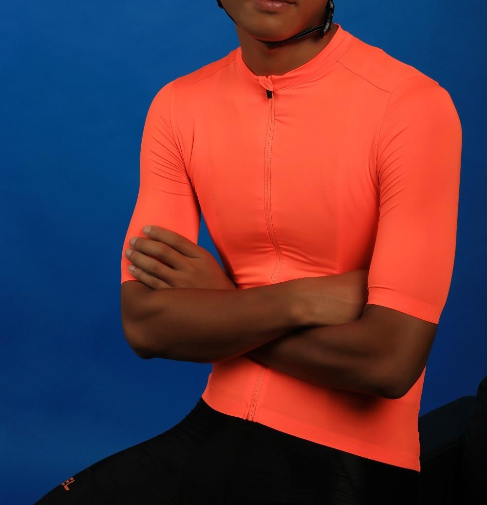 SPEXCEL 2018 NEUE Helle Orange Top Qualität kurzarm radfahren jersey pro team aero cut mit Neueste Nahtlose prozess straße mtb