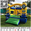 Minion inflatable bounce house for kids, inflatable minions bouncy castle for sale