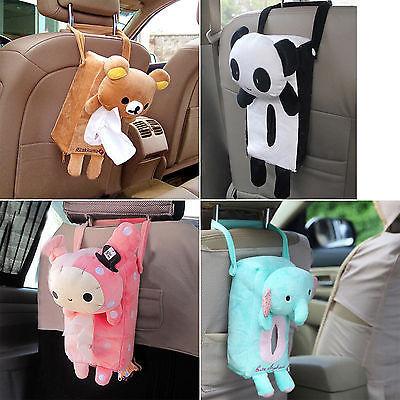 Tissue Holder For Car Cute Animal Degign