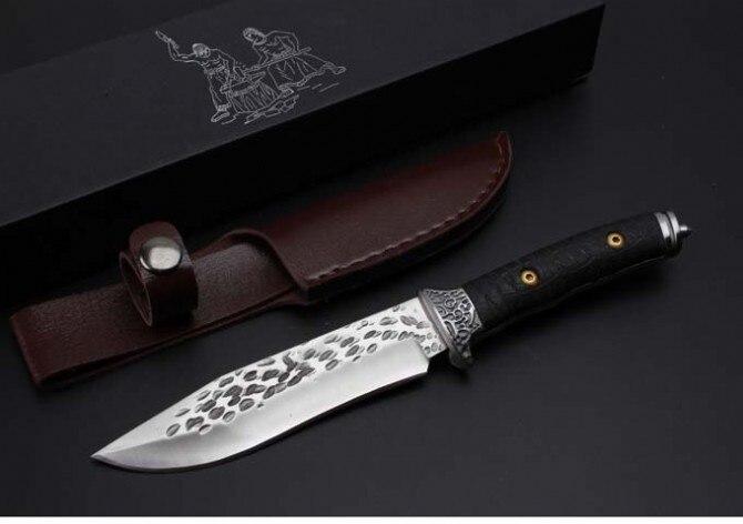 New Forge EDC font b Tactical b font font b Knives b font 7Cr13Mov Blade G10
