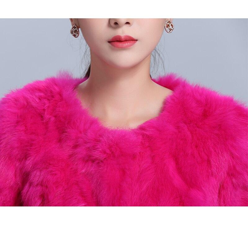 21 Hiver Femmes Livraison Taille 15 18 Fourrure 16 13 19 12 6xl M Lapin Gratuite Manteau Court 11 O Plus D'hiver 20 Automne Col Naturel 2018 De 17 YxIAaqHwnZ
