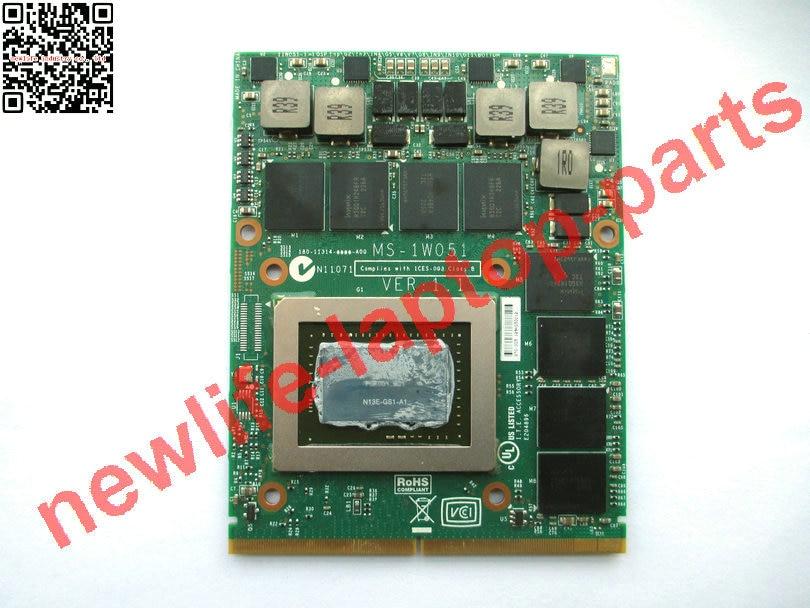 original GTX 675M GTX675M for GT60 GT70 2GB GDDR5 graphics Video card board MS-1W051 VER 1.1 N13E-GS1-A1 free shipping original g50v g50vt g51vx g61vx g60v g60vx graphics video board g60vx mxm vga card gtx260m gtx 260m 1g g92 751 b1 tested fully
