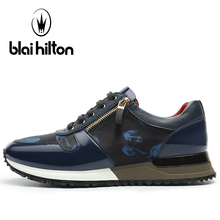 Blaibilton Light Weight Running Shoes For Men Breathable Men's Sneakers 2017 New Stability Lace Up Summer Sport Shoes Man Brand