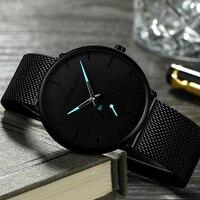 Slim luxury watch for men. VIP Art Fashion