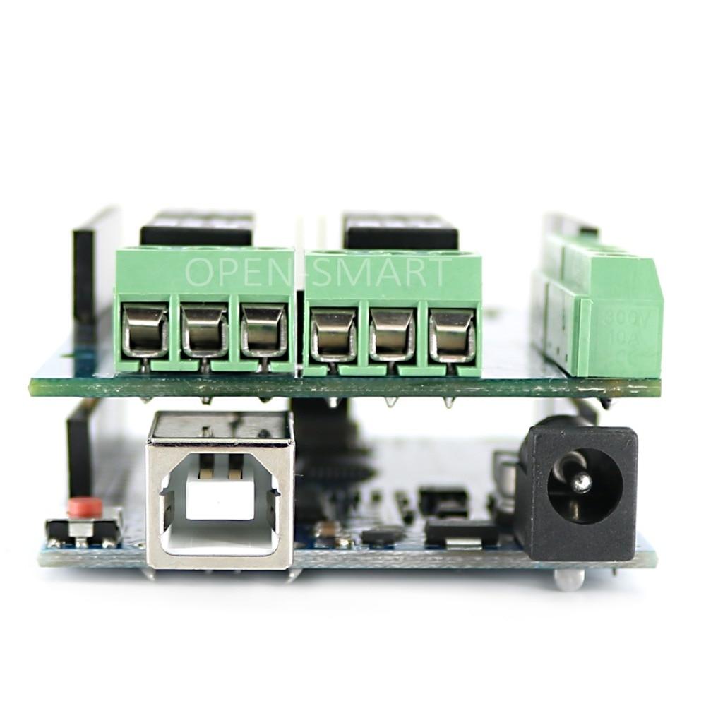 Arduino qalxanı üçün Relay Shield 5V 4-kanal Relay - Sənaye kompüterləri və aksesuarları - Fotoqrafiya 6