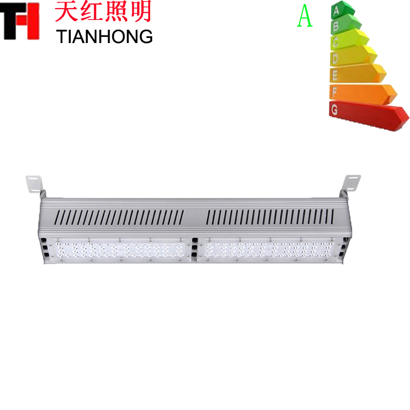 IP65 tahan air 100W Indoor Led Light Warehouse 100W Linear High Bay Light