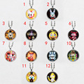 5pcs/lot Five Nights at Freddy's Necklace FNAF Freddy Fazbear bear Antique Pendant Jewelry chain figure toys