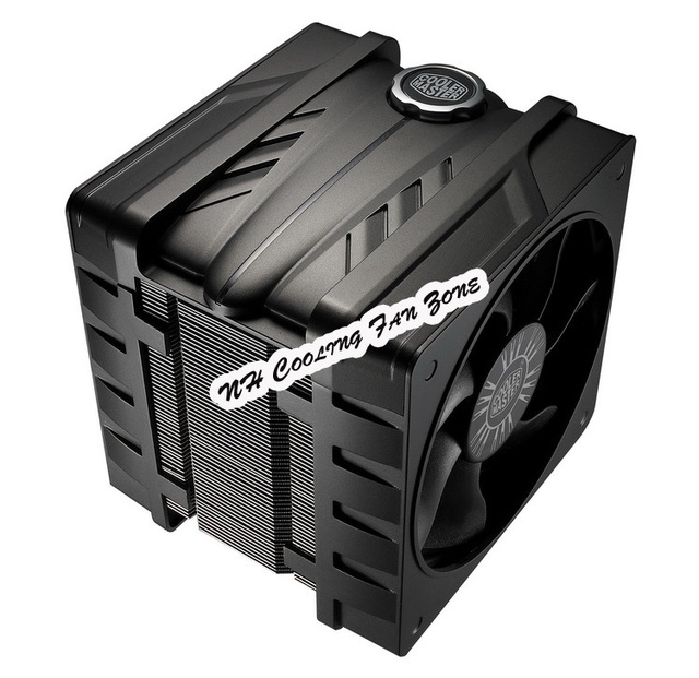 Cooler Master V6GT 2011 Computer CPU Intel amd copper heat pipe radiator silent CPU fan