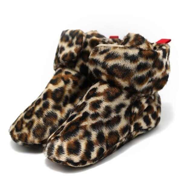 ROMIRUS Pasgeboren Zuigeling Klassieke Vloer Winter Super Warm Slip-On Soft Baby Wieg Booties Schoenen Meisjes Jongens Schoenen Mocassins