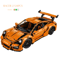 Pandadomik Super Large 2728pcs Technic Racing Car Model Building Kits Blocks Bricks DIY Toy Construction Legoingly Toys for Boys