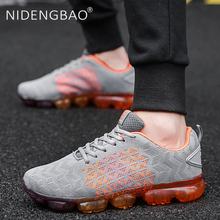 Men Running Shoes Breathable Sneakers Air Cushion Lightweight Outdoor Sports Shoes Designer Athletic Footwear For Male man running shoes black red white sports shoes for male spring summer athletic footwear male breathable light sneakers running