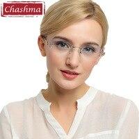Chashma Brand New Fashion Korea Eyeglasses Titanium Women Myopia Spectacle Frames