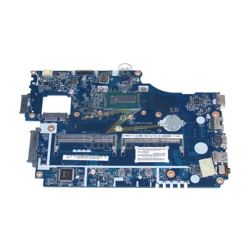 V5WE2 LA-9532P REV 1A NBMFM11007 NB.MFM11.007 for acer aspire E1-572 E1-572G laptop motherboard i5-4200U DDR3L sheli laptop motherboard for acer aspire e1 532 e1 572 e1 572g v5we2 la 9532p nbmfm1100k sr1dx 2981u cpu 100% test ok