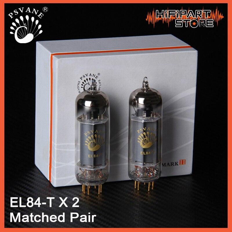 2pcs PSVANE EL84 T Valve Matched Pair Tube amplifier accessories Repalce GV Shuguang EH JJ Mullard