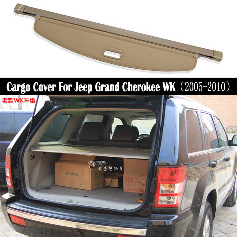 Rear Cargo Cover For Jeep Grand Cherokee Wk 2005 2006 2007 2008 2009 2010 Privacy Trunk Screen Security Shield Shade Accessories Rear Racks Accessories Aliexpress