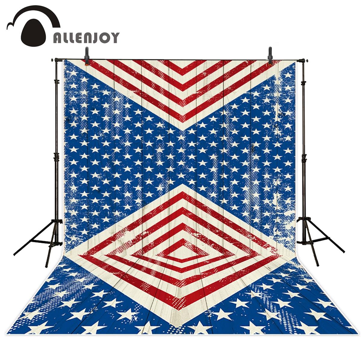 Allenjoy kulissen Fotografie Rot Weiß Blau Amerikanische Flagge ...