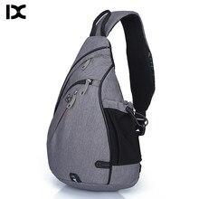 Marka o dużej pojemności męska torba na klatkę piersiowa wysokiej jakości nylonowe męskie torby szkolne nowoczesna torba na ramię Unisex Crossbody torby torba listonoszka