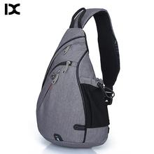 Brand Large Capacity Male Chest Bag High Quality Nylon Men School Bags Modern Shoulder Bag Unisex Crossbody Bags Messenger Pack
