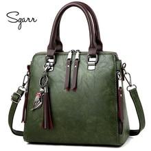 e9928b846835 SGARR мягкие кожаные сумочки женщины известных брендов роскоши сумка  дизайнер Качество повседневная женская сумка женские большие