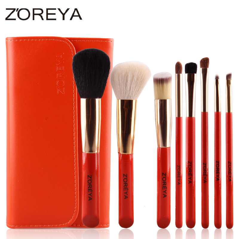 8Pcs New Pro Makeup Brush Set Powder Foundation Eyeshadow Eyeliner Lip Cosmetic Brush Kit Beauty Tools Best Quality new 32 pcs makeup brush set powder foundation eyeshadow eyeliner lip cosmetic brushes kit beauty tools fm88