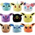Топ Аниме Pokemon Eevee Ib Логотип Хлопок Hat Зимние Теплые Шапочки Крышка Костюмированный Бал Косплей Подарок Новое Прибытие 9 моделей