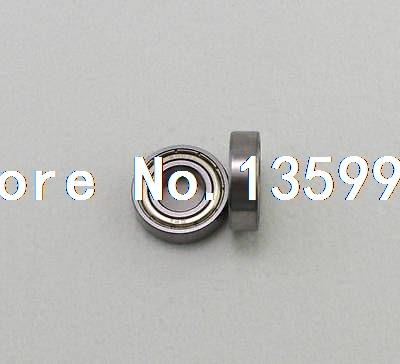 цены (50) 2 x 5 x 2.3mm Micro Shielded Deep Groove Ball 682ZZ Model Radial Bearing