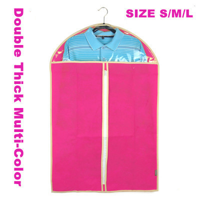Lot 5 Double Thick Multi-Color Dress Clothes Garment Suit Cover Bags Dustproof Storage Protector